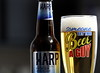 Funny Beer Glass. 2 (EOS) (Mega-Magpie) Tags: canon eos 60d indoors drink cold beer harp premium imported lager
