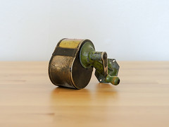 Arrow Pencil Sharpener (.godo) Tags: etsy vintage antique 1900s 1910s 1920s 1930s 10s 20s 30s industrial edwardian victorian utility pencilsharpener automatic classroom school class office mancave wallhanging metal mcm midcenturymodern steampunk