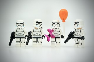LEGO Stormtrooper Birthday Party