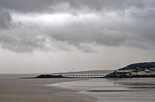 Birnbeck Pier from Brean Down