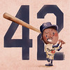 Happy Jackie Robinson Day!Baseball has forever been close to... (fannie.bowater) Tags: funny quotes message sayings signs