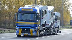 60-BKS-4 (panmanstan) Tags: renault range wagon truck lorry commercial international dutch drawbar freight transporter transport haulage vehicle a63 everthorpe yorkshire
