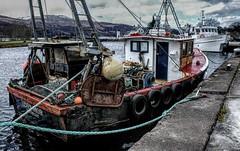 fishing boat (grahamd4) Tags: trawler fishing boat nikon d70 water travel scotland