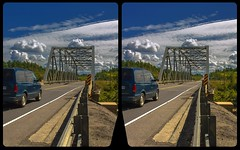 Bridge on Trans-Canada Highway 3-D / CrossView / Stereoscopy / HDRaw (Stereotron) Tags: north america canada province ontario backcountry transcanadahighway highway17 bridge steel crosseye crosseyed crossview xview cross eye pair freeview sidebyside sbs kreuzblick 3d 3dphoto 3dstereo 3rddimension spatial stereo stereo3d stereophoto stereophotography stereoscopic stereoscopy stereotron threedimensional stereoview stereophotomaker stereophotograph 3dpicture 3dglasses 3dimage twin canon eos 550d yongnuo radio transmitter remote control synchron kitlens 1855mm tonemapping hdr hdri raw
