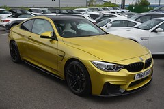 BMW M4 Coupe (CA Photography2012) Tags: cn66rko bmw m4 coupe gt grand tourer sportscar yellow luxury supercar m3 competition package cs german ca photography automotive exotic car spotting