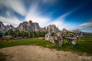Catinaccio Rosengarden - Ciampedie - Val di Fassa - Trento - Italy