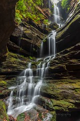 Lucy's Glen, township of Lawson, Blue Mountains Australia. (Bezzzman) Tags: lucys glen blue mountains empire pass lawson north waterfalls australia running water canyon rocks creeks