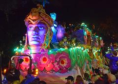 Faces in the Night (BKHagar *Kim*) Tags: bkhagar mardigras neworleans nola la parade celebration people crowd beads outdoor street napoleon uptown proteus kreweofproteus face night light