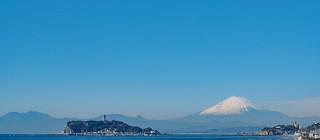 江之島|鎌倉的富士山