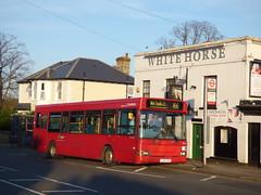 Darting To The Hospital (londonbusexplorer) Tags: arriva london dennis dart slf plaxton pointer pdl121 lj05gpk 166 west croydon banstead epsom general hospital tfl buses