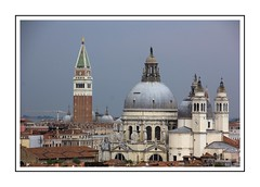 Venice rooftops (Audrey A Jackson) Tags: canon60d venice cruise rooftops domes towers