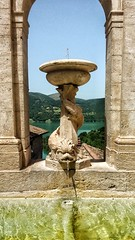 (uffagiainuso) Tags: fountain fontana fontane water watercaptures rieti lago lake turano lazio italia artdetails details detail detalles architecturedetails olddetails dettagli window windows windowsaroundtheworld landscape scultura sculpture sculture arteurbana