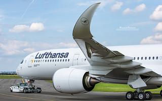 Airbus A350 Lufthansa D-AIXK