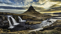 Kirkjufell (slimaly) Tags: iceland kirkjufell sunrise landscape d750 scenic nature clouds travel snæfellsnes
