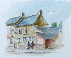 Maison Perrel, rue de Calais, à Acigné en 1996