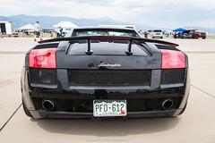 Gallardo Booty (Hunter J. G. Frim Photography) Tags: supercar colorado lamborghini gallardo italian coupe black v10 wing carbon lamborghinigallardo