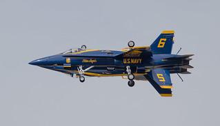 Blue Angles F-18 hornet