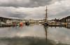 Harbour reflections (Alf Branch) Tags: westcumbria water whitehaven cumbria calmwater sea seaside irishsea refelections reflection alfbranch olympus omd olympusomdem5mkii zuiko zuiko1442f3556ez boat boats sailing sailingship