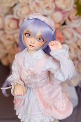 Renee (*jadepixel) Tags: sdc volks doll super dollfie cute enchanted eyes bjd
