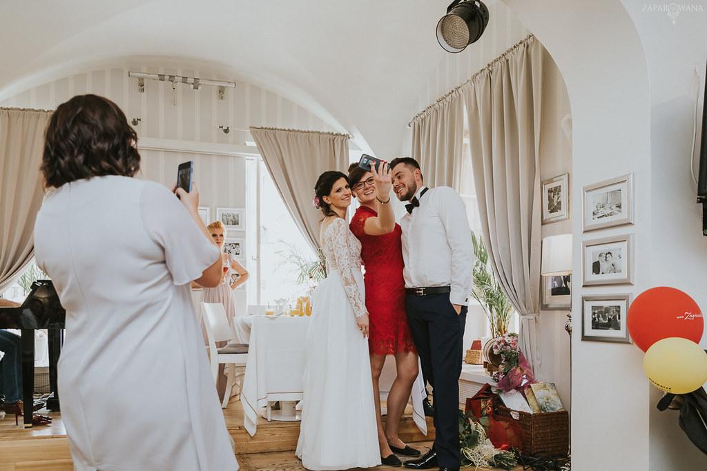 360 - ZAPAROWANA - Kameralny ślub z weselem w Bistro Warszawa