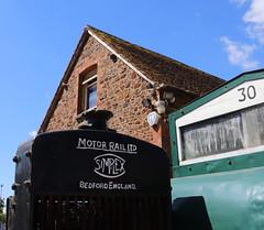 Motor Rail Limited (Tanllan) Tags: stable workshop stonehenge works leighton buzzard narrow gauge railway society stone brick simplex motor rail bedford loco locomotive
