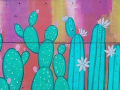 #gloriamuriel (THERATKIDSCRU) Tags: gloriamuriel cdmx arteurbano nopales cactus urbanart instagraffiti glow painting wall