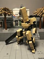 Cavalier Tx - Combat type (Devid VII) Tags: devidvii mecha mech moc devid vii tan cavalier lego