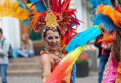 SO8A7384 (Risto Kuisma) Tags: sambacarnaval2018 samba carnaval costume people finland helsinki summer june canon suomi smile colours