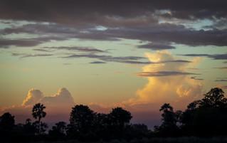 BOTSWANA:  SUNSETS