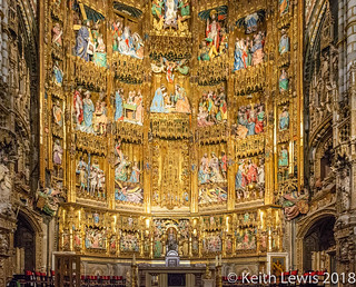 Toledo Cathedral  the  retable  completed 1504
