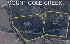 C/A 30A PARCEL F IRON POT CREEK ROAD (Mt Cole), Mount Cole Creek VIC