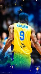 WALLPAPER-FIBAWC-PHONEART2-MASSAMBA (sbbfbildarkiv) Tags: herrar herrlandslag herr vmkval vm fiba