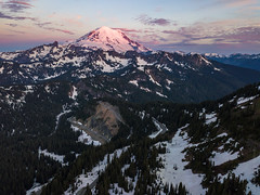 DJI_0273 (www.mikereidphotography.com) Tags: drone dji mavicpro rainier mountain sunrise landscape