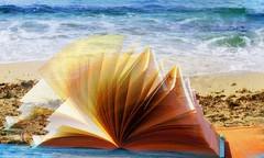 * Oggi primo giorno d'Estate :  in spiaggia con un libro da leggere nel vento * (argia world 1) Tags: isoladelba elbaisland mare sea spiaggia beach libro book creatività creativity ricordi memories argiagranuzzo