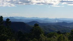 Blue (akervand) Tags: australia landscape queensland tree mountain sky cloud