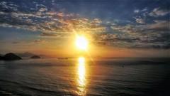 Rio de Janeiro - AMANHECER - explore (sileneandrade10) Tags: sileneandrade rio riodejaneiro paisagem amanhecer viagem turismo pôrdosol céu mar praia explore