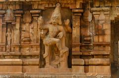 Temple Sculpture (Balaji Photography - 5 .5 Million+ views -) Tags: sculpture thanjavur india chola artwork