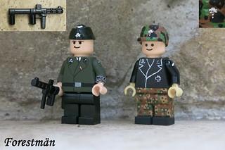 Waffen SS Richtschützen, custom Lego