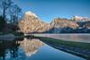 Double mountain (Fotos4RR) Tags: see lake traunsee laketraunsee salzkammergut upperaustria oberösterreich mountain mountains berg berge reflection reflections spiegelung traunkirchen traunstein winter sunnyday bluesky blauerhimmel bridge brücke