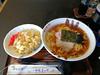 味処 まつや ラーメンと半チャーハン(日替わり) (shimashimaneko) Tags: food ラーメン ramen 新潟 niigta 長岡 nagaoka 日本 japan