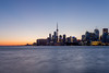 Toronto Skyline at Dusk (Candice Pun) Tags: toronto skyline lakeontario water dusk sunset sky cntower canada ontario canadian