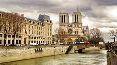 Notre Dame de Paris, France (Phil du Valois) Tags: paris france cathédrale notredame gothique flamboyant seine