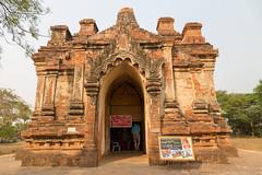 Myanmar-20180324-1233 (ShaneAndRobbie) Tags: nyaungu mandalayregion myanmarburma mm myanmar burma bagan gubyaukgyi pagoda temple baganarchaeologicalzone baz
