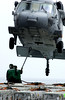 sikorsky h-60 (San Diego Air & Space Museum Archives) Tags: people onload ammo reagan cvn76 ammuniion mh60s seahawk rainier pacificocean usa