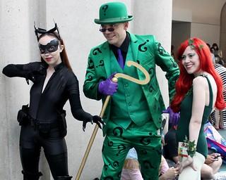 2015-Fans Dressed Up as Batman Villains at SDCC on Sunday-03