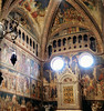 Chapel of the Corporal (█ Slices of Light █▀ ▀ ▀) Tags: chapel corporal cappella del corporale miracle bolsena altar triptych tabernacle fresco frescoes painting crucifixion eucharist holy communion duomo orvieto 奥尔维耶托 主教座堂 cathedral 座堂 church interior catholic italia 意大利 italy olympus em1 panorama stitched panoramamaker arcsoft maker