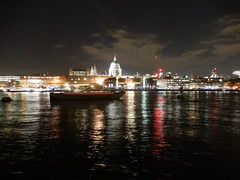 St Paul's Cathedral at night (John Steedman) Tags: uk unitedkingdom england イングランド 英格兰 greatbritain grandebretagne grossbritannien 大不列顛島 グレートブリテン島 英國 イギリス ロンドン 伦敦 雪 london londres stpaulscathedral cathedral stpauls