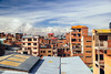 el alto (almostsummersky) Tags: rooftops roofs teleférico bolivia brick city windows clouds elalto above urban lapaz floors sky morning sabbatical cablecar buildings mountain southamerica