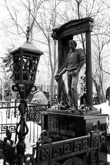 Leonid Filatov (Vagankovo Cemetery) (nonnull) Tags: russia moscow cemetery filmphotography filmphoto filmisnotdead filmtype135 analogphotography film fomapan100classic xtol fomapan fomapan100 olympusmjuii apertureapp monochrome monotone printbypro noritsuls1100 blackandwhite noiretblanc bnwmood bnwfilm bnw artinbw bwfp bw ru vagankovocemetery tomb gravestone graveyard чб vagankovo ваганьково ваганьковскоекладбище россия москва чбфото пленка фотопленка art sculpture скульптура чернобелое зима тафофилия dark grain mood analog tombstones leonidfilatov
