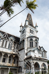 Georgetown architecture - City Hall (10b travelling / Carsten ten Brink) Tags: carstentenbrink 10btravelling 2018 americas britishguiana britishguyana caribbean cityhall georgetown gothic gothicrevival guiana guianas guyana guyanas iptcbasic latinamerica latinoamerica southamerica architecture building capital city citycenter citycentre cmtb conical spire tenbrink timber tower
